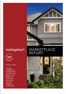 Marketplace report 2015 Spring - real estate sales prices in caulfield, Brighton, Elsternwick, Ormond, St Kilda East and more