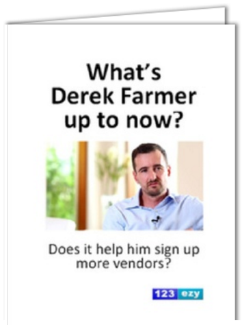What's Derek Farmer up to know post card - content marketing for real estate agents